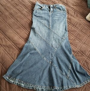 Hot kiss Jean denim skirt